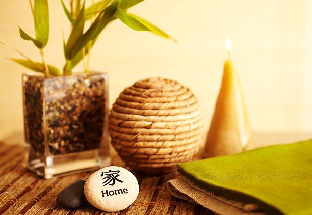 Home decor still life of bamboo in vase:スマホ壁紙(壁紙.com)