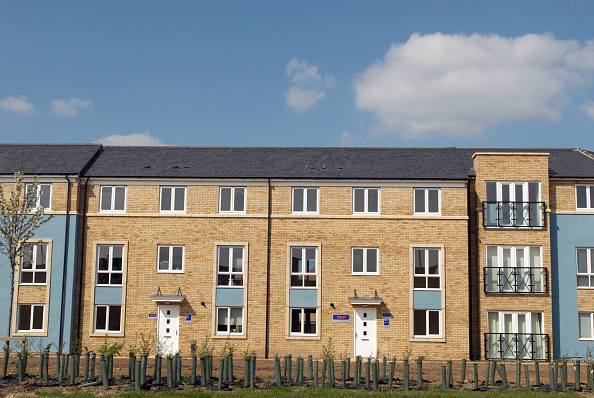 Townhouse「Housing development, Cambridge, UK」:写真・画像(3)[壁紙.com]