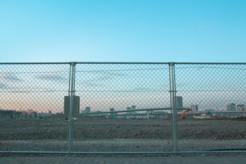 Koto Ward「Housing development in the evening」:スマホ壁紙(4)