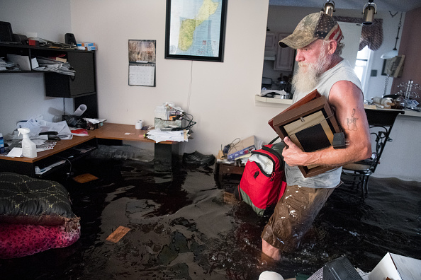 South Carolina「Flood Waters From Hurricane Florence Begin To Flood Parts Of South Carolina」:写真・画像(17)[壁紙.com]