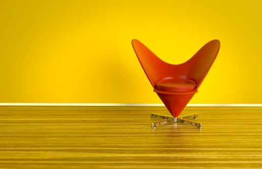 Heart「The 70s. Heart-Shaped Cone Chair」:スマホ壁紙(8)