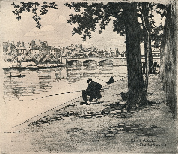 Physical Geography「'The Pont de l'Archeveche', 1915」:写真・画像(8)[壁紙.com]