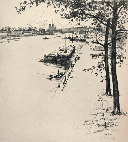 Physical Geography「'The Pont de Sully', 1915」:写真・画像(18)[壁紙.com]