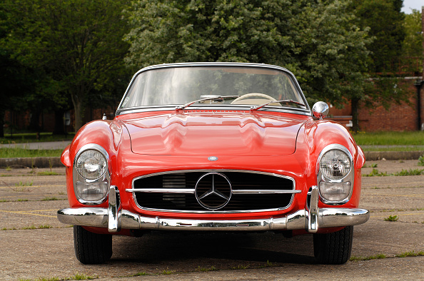 Animal Wildlife「1961 Mercedes Benz 300SL」:写真・画像(0)[壁紙.com]