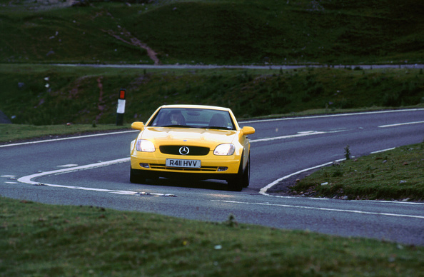 Headlight「1998 Mercedes Benz SLK 230」:写真・画像(14)[壁紙.com]