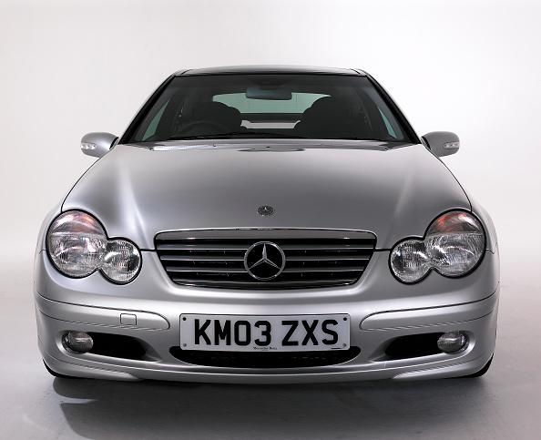 Facade「2003 Mercedes Benz C200k Coupe」:写真・画像(18)[壁紙.com]
