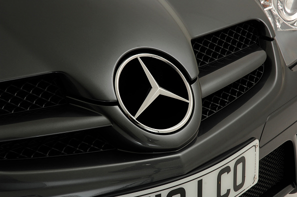 Vehicle Grille「2010 Mercedes Benz SLK 200」:写真・画像(10)[壁紙.com]