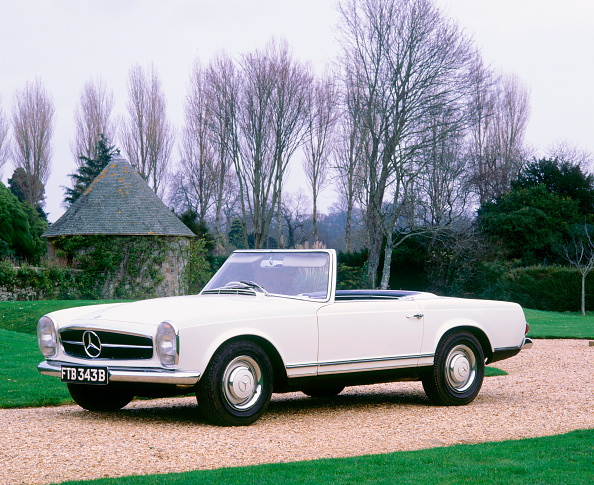Vintage Car「1964 Mercedes Benz 230SL」:写真・画像(13)[壁紙.com]