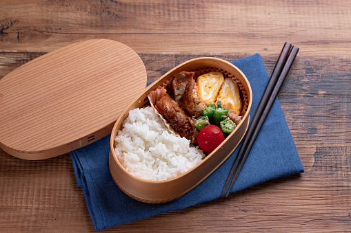 Teriyaki「Japanese wooden lunchbox, magewappa」:スマホ壁紙(17)