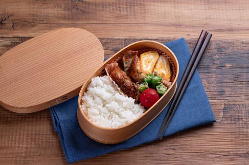Lunch Box「Japanese wooden lunchbox, magewappa」:スマホ壁紙(16)