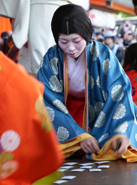 Tanka「Ceremony of the First Karuta Card Game Of New Year Held In Kyoto」:写真・画像(5)[壁紙.com]