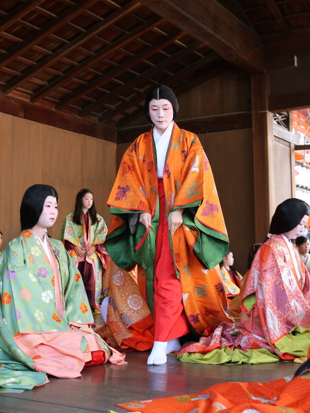 Tanka「Ceremony of the First Karuta Card Game Of New Year Held In Kyoto」:写真・画像(2)[壁紙.com]
