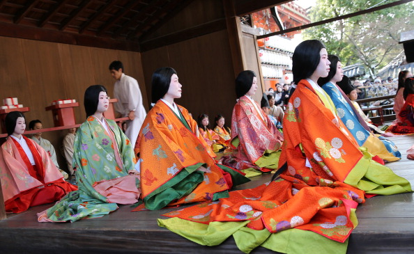 Tanka「Ceremony of the First Karuta Card Game Of New Year Held In Kyoto」:写真・画像(9)[壁紙.com]