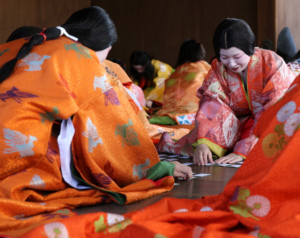 Tanka「Ceremony of the First Karuta Card Game Of New Year Held In Kyoto」:写真・画像(17)[壁紙.com]