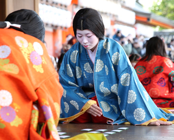 Tanka「Ceremony of the First Karuta Card Game Of New Year Held In Kyoto」:写真・画像(11)[壁紙.com]