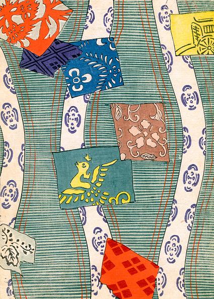 Kimono「Print Of Multi-Colored Flags」:写真・画像(11)[壁紙.com]