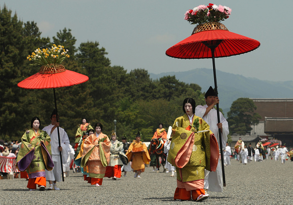 葵祭「Aoi Festival Takes Place In Kyoto」:写真・画像(2)[壁紙.com]
