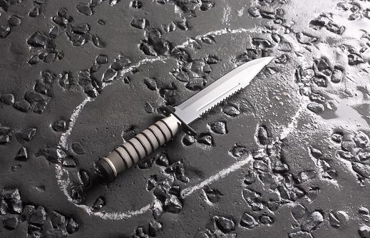 Evil「Knife Crime」:スマホ壁紙(9)