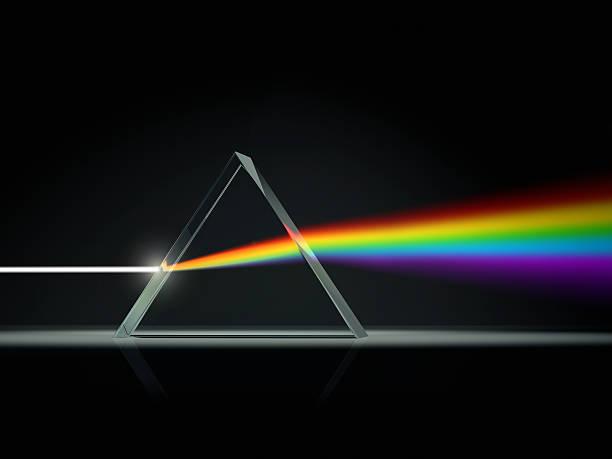Prism splitting light into color spectrum:スマホ壁紙(壁紙.com)