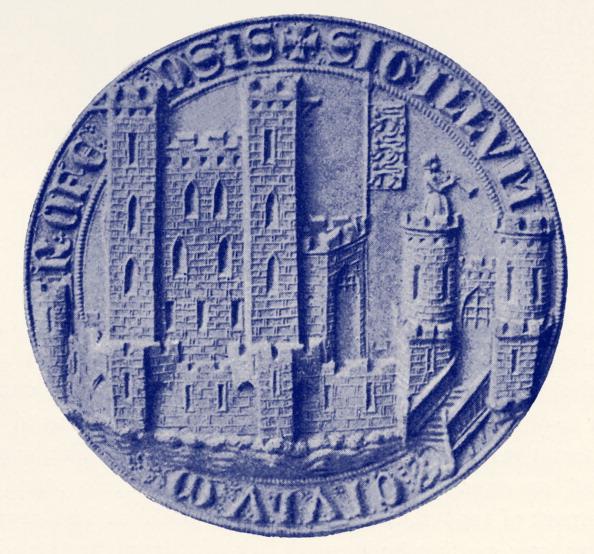 City Life「Seal of Rochester, c. 1300」:写真・画像(17)[壁紙.com]