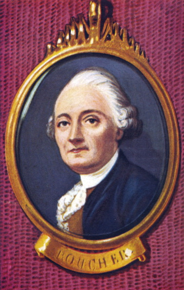 Culture Club「François Boucher. Portrait of the French painter. After a miniature by Bernet.」:写真・画像(8)[壁紙.com]