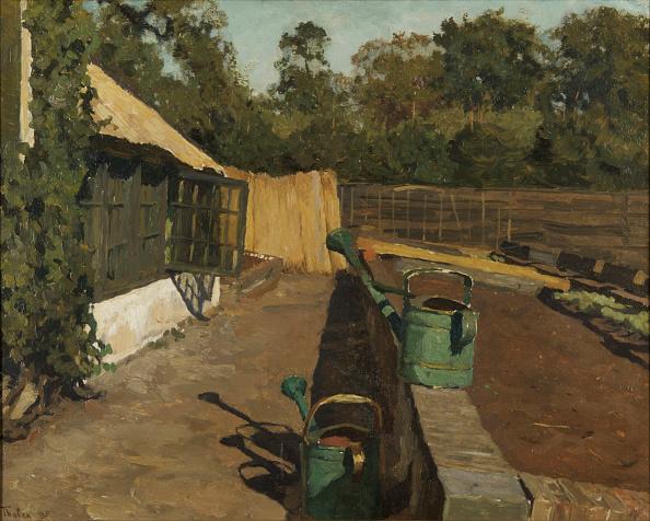 Oil On Wood「Vegetable Garden At Ewijkshoeve」:写真・画像(18)[壁紙.com]