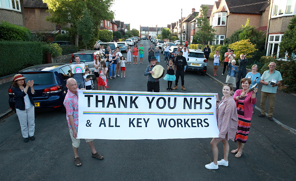 Northamptonshire「Britain Claps For Carers For a Tenth Week Following Calls For It To End」:写真・画像(16)[壁紙.com]