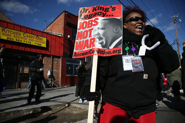 Politics and Government「Washington DC Commemorates Martin Luther King Day」:写真・画像(13)[壁紙.com]