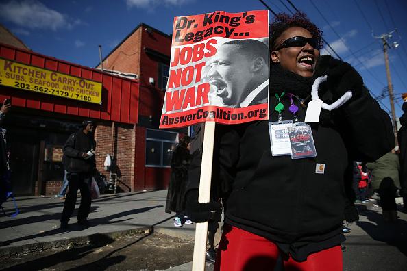 Alex Wong「Washington DC Commemorates Martin Luther King Day」:写真・画像(14)[壁紙.com]