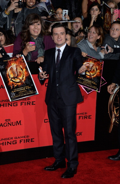 "Frazer Harrison「Premiere Of Lionsgate's ""The Hunger Games: Catching Fire"" - Arrivals」:写真・画像(9)[壁紙.com]"
