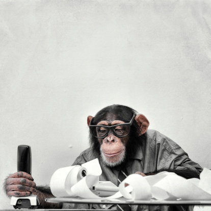 Nerd「Accountant Goofy Chimp」:スマホ壁紙(15)