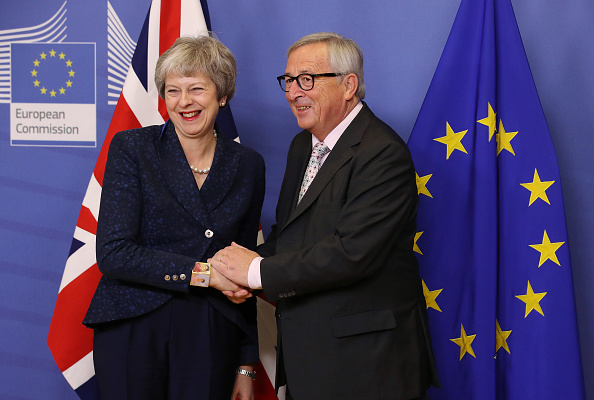 Brussels-Capital Region「British Prime Minister Arrives In Brussels Ahead Of Brexit Summit」:写真・画像(13)[壁紙.com]
