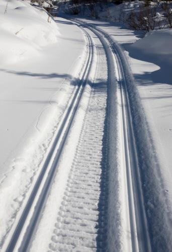 Snowdrift「Snow track」:スマホ壁紙(6)