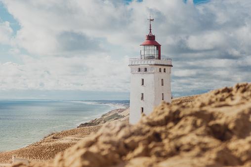 Denmark「Rubjerg Knude Lighthouse」:スマホ壁紙(13)