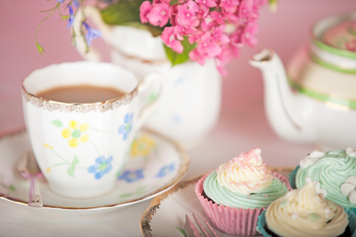 Tea「Elegant Teatime」:スマホ壁紙(17)
