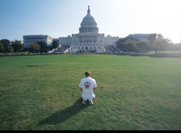 The Mall - Washington DC「Promise Keepers Gather In The Nation's Capital」:写真・画像(8)[壁紙.com]