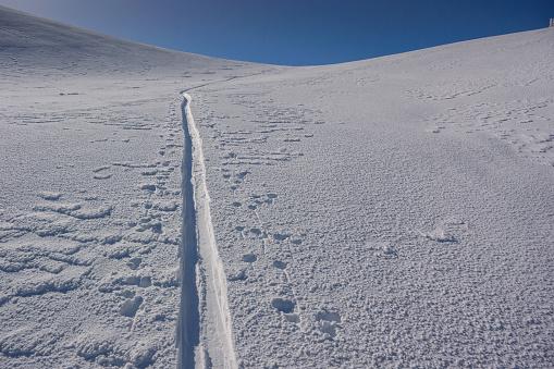 グルノーブル「Ski tracks」:スマホ壁紙(13)