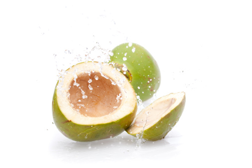 Coconut Water「green drink coconut splashing」:スマホ壁紙(3)