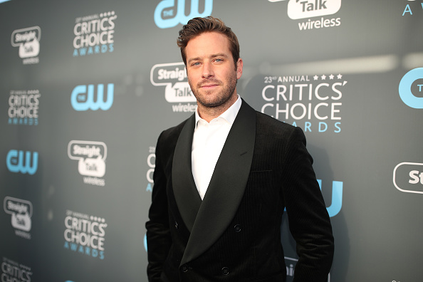 Armie Hammer「The 23rd Annual Critics' Choice Awards - Red Carpet」:写真・画像(11)[壁紙.com]