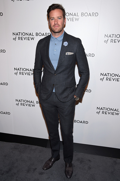 Armie Hammer「The National Board Of Review Annual Awards Gala - Arrivals」:写真・画像(3)[壁紙.com]