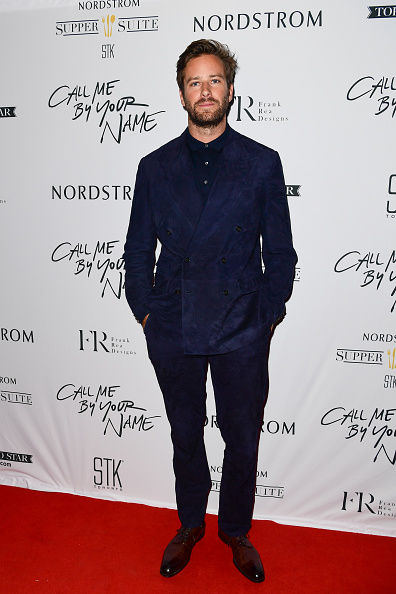 Armie Hammer「Nordstrom Supper Suite 'Call Me By Your Name' Official Premiere After Party」:写真・画像(4)[壁紙.com]
