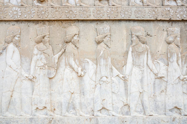 Bas Relief Persian Empire Soldiers:スマホ壁紙(壁紙.com)