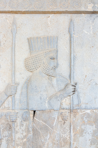 Iranian Culture「Bas Relief Persian Empire Soldier」:スマホ壁紙(16)