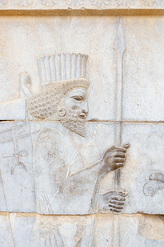Iranian Culture「Bas Relief of Persian Empire Soldier」:スマホ壁紙(6)