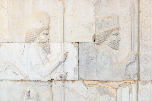 Bas Relief of Persian Empire Soldiers:スマホ壁紙(壁紙.com)