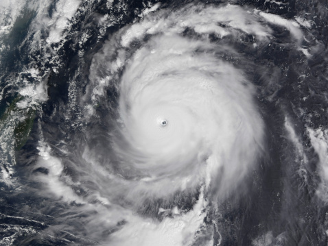 Extreme Weather「September 10, 2003 - Typhoon Maemi in the Western Pacific Ocean.」:スマホ壁紙(18)