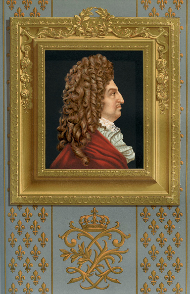 Chromolithograph「Louis XIV of France」:写真・画像(1)[壁紙.com]