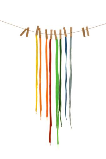 Clothespin「color shoelaces」:スマホ壁紙(19)