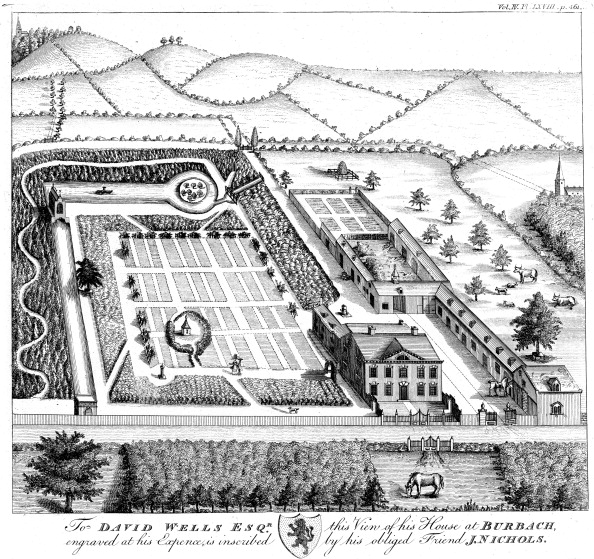 Ornamental Garden「Gentleman's model country estate, c1750.」:写真・画像(14)[壁紙.com]