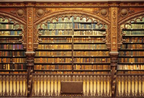 Antique「Old library」:スマホ壁紙(13)